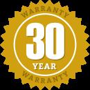 Paverdeck's 30-Year Warranty