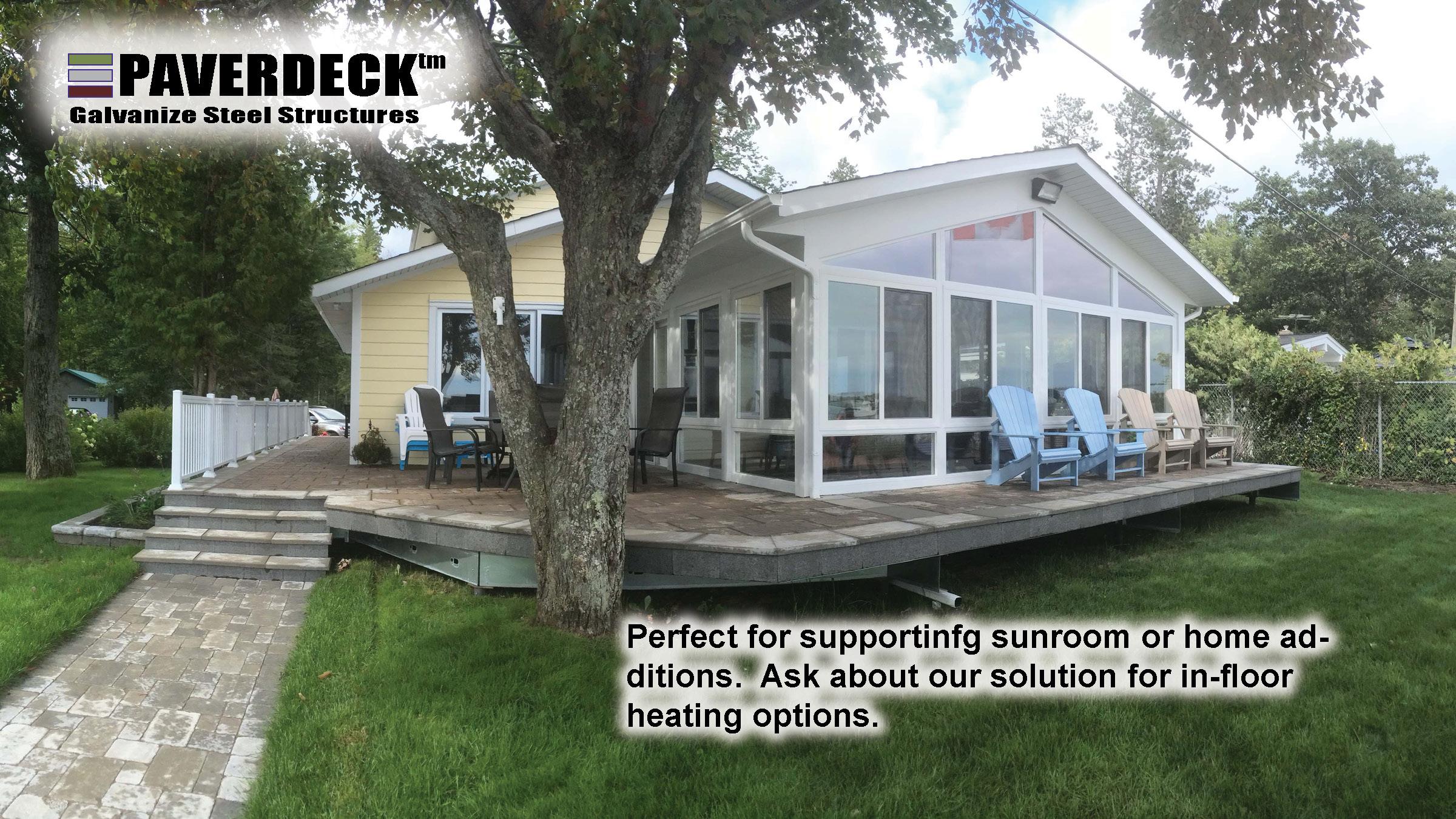 PAVERDECK   TILEDECK   Lifetime Maintenance-Free Decks Decking