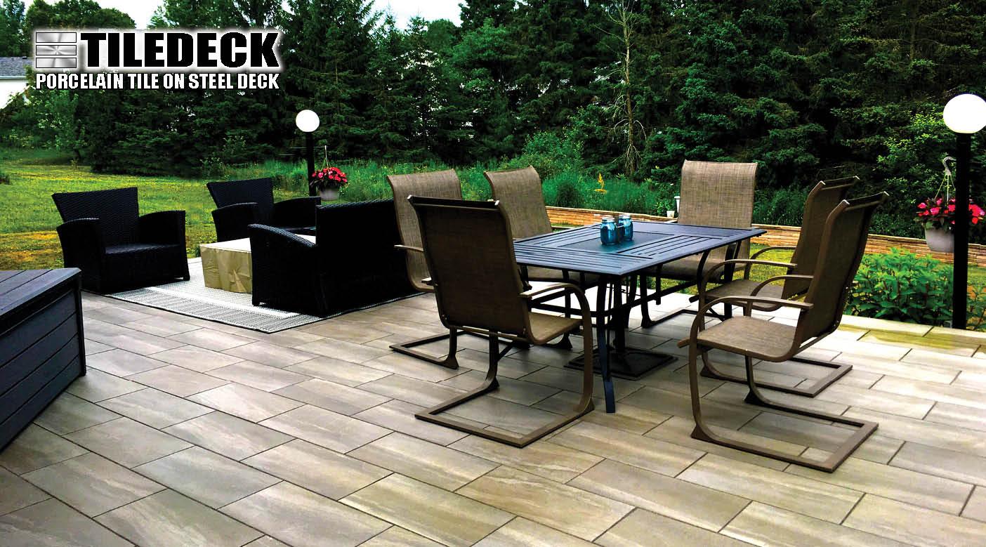 PAVERDECK | TILEDECK | Lifetime Maintenance-Free Decks Decking
